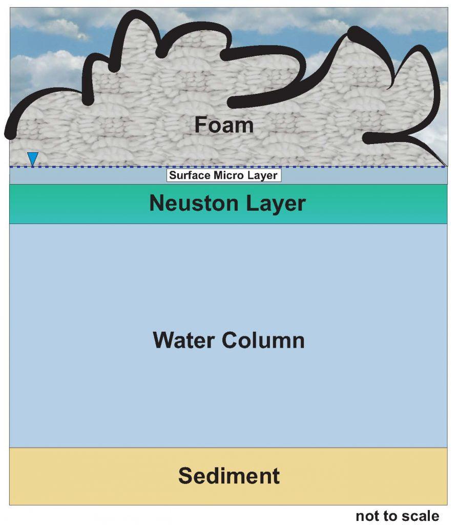 Figure 16-2. PFAS foam on surface water